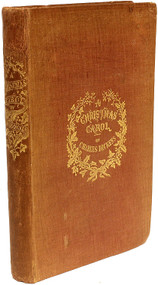 DICKENS, Charles. A Christmas Carol. In Prose. Being A Ghost Story of Christmas. (FIRST EDITION SECOND ISSUE - 1843)