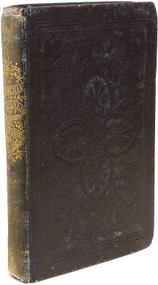 DICKENS, Charles. A Christmas Carol. In Prose. Being a Ghost Story of Christmas. (FIRST AMERICAN EDITION - 1844)