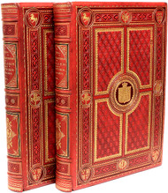 ARCHER, Thomas. Pictures and Royal Portraits Illustrative of English and Scottish History, From The Introduction of Christianity to The Present Time. (2 VOLUMES - 1878)