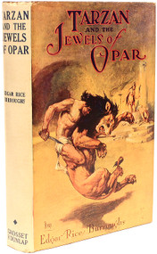 BURROUGHS, Edgar Rice. Tarzan and the Jewels of Opar. (GROSSET & DUNLAP - 1943)