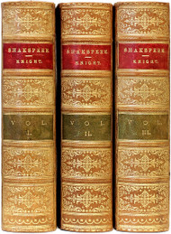 SHAKESPEARE, William (Charles Knight - editor). The Works of William Shakespeare. (3 VOLUMES - 1901)