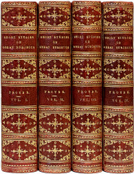 FROUDE, James Anthony. Short Studies on Great Subjects. (NEW EDITION - 4 VOLUMES - 1888)