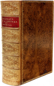 TREVELYAN, Sir George Otto. The Life and Letters of Lord Macaulay.  (NEW EDITION - 1888)