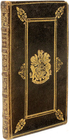 STATUTES. A collection of the several statutes, and parts of statutes, now in force, relating to High Treason,... - BOUND WITH - A Form and Method of Trial of Commoners, In Cases of High Treason,.... (1709 - WITH THE GILT ARMS OF QUEEN ANN)