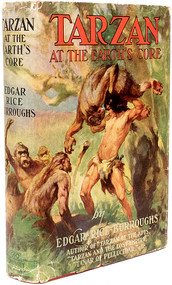 BURROUGHS, Edgar Rice. Tarzan at the Earth's Core. (1934 - GROSSET & DUNLAP)