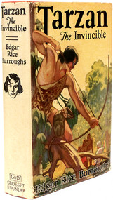BURROUGHS, Edgar Rice. Tarzan The Invincible. (GROSSET & DUNLAP - 1933)