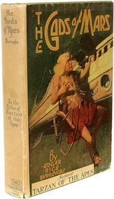 BURROUGHS, Edgar Rice. The Gods of Mars. (GROSSET & DUNLAP, 1922)