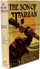 BURROUGHS, Edgar Rice. The Son of Tarzan. (GROSSET & DUNLAP - 1930)