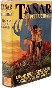 BURROUGHS, Edgar Rice. Tanar of Pellucidar. (GROSSET & DUNLAP - 1930)
