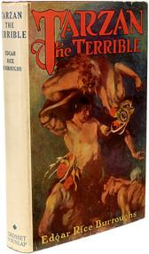 BURROUGHS, Edgar Rice. Tarzan The Terrible. (MADISON SQUARE SERIES - 1943)
