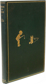 MILNE, A. A. Winnie The Pooh. (FIRST EDITION - 1926)