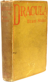 STOKER, Bram. Dracula. (1897 - FIRST EDITION FIRST ISSUE)