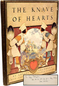 SAUNDERS, Louise (Maxfield Parish). The Knave of Hearts. (FIRST EDITION PRESENTATION COPY - 1925)