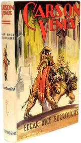 BURROUGHS, Edgar Rice. Carson of Venus. (TARZANA, CA - 1939)