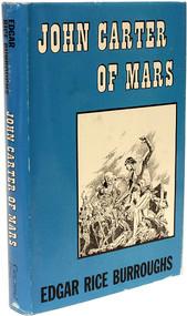 BURROUGHS, Edgar Rice. John Carter of Mars. (FIRST EDITION - 1964)