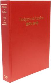 CARLSON, David & Jeffrey Eger. Dodgson at Auction 1893-1999. (FIRST EDITION - 1999)