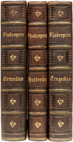 SHAKESPEARE, William. The Complete Works of Shakespeare, from the Original Text:.... (3 VOLUMES - c.1890)
