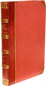STRICKLAND, Agnes. Lives Of The Queens of England From The Norman Conquest; with Anecdotes of Their Courts,...  (1841 - 12 VOLUMES)