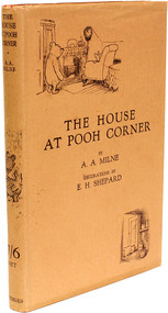 MILNE, A. A.. The House At Pooh Corner. (1928 - FIRST EDITION).