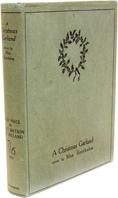 BEERBOHM, Max. A Christmas Garland. (FIRST EDITION - 1912)