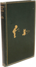 MILNE, A. A.. Winnie The Pooh. (FIRST EDITION - 1926) c
