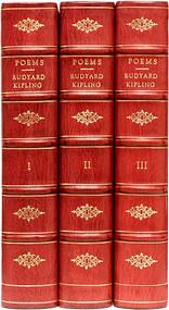 KIPLING, Rudyard. Poems 1886-1929. (SIGNED LIMITED EDITION - 1930)