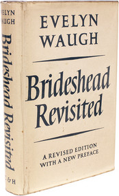 WAUGH, Evelyn. Brideshead Revisited. (REVISED EDITION WITH A NEW PREFACE AND A PRESENTATION COPY - 1960)