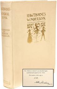 HAWTHORNE, Nathaniel. A Wonder Book. (LIMITED SIGNED EDITION BY ARTHUR RACKHAM - 1922)
