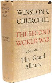 CHURCHILL, Winston. The Second World War - Volume 3 - The Grand Alliance. (1950 - FIRST EDITION)