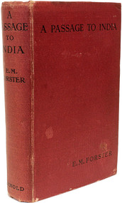FORSTER, E. M. A Passage To India. (FIRST EDITION FIRST ISSUE - 1924)