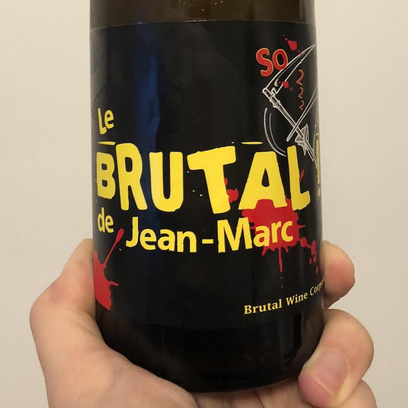 Les Vins Pirouettes by Binner, Brutal de Jean-Marc (2016)