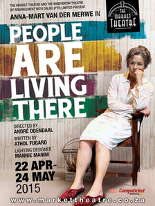 People are Living There Poster (Theatre)