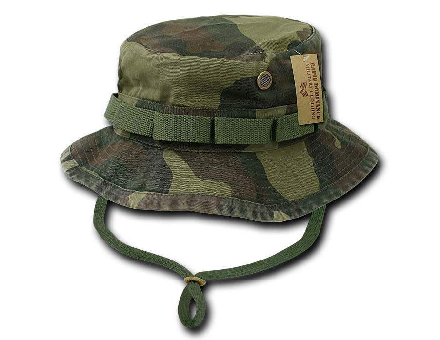 Military Style Boonie Hunting Army Fishing Outdoor Hiking Bucket ... 61e690f02833