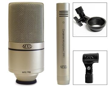 MXL 990/991 Recording set