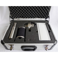 Brauner VM1 in the case with shock mount, power supply, windscreen and vovox cable