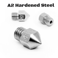 Micro Swiss A2 Hardened Steel MK8 3D Printer Nozzle - 3D Printing Canada