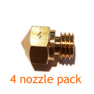 Mk10 Nozzle Pack - Brass - 3D Printing Canada