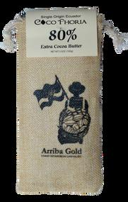 80% Cacao Gourmet Chocolate from Ecuador