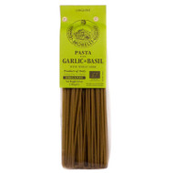Organic linguine with Basil and Garlic