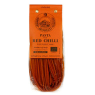 Organic linguine with Hot Peperoncino