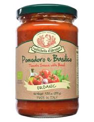 Organic Tomato Sauce and basil