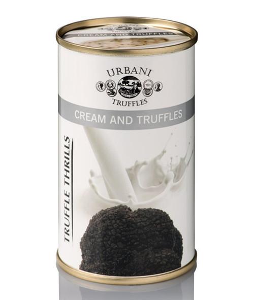 Truffle Thrills, Black Truffles and Cream
