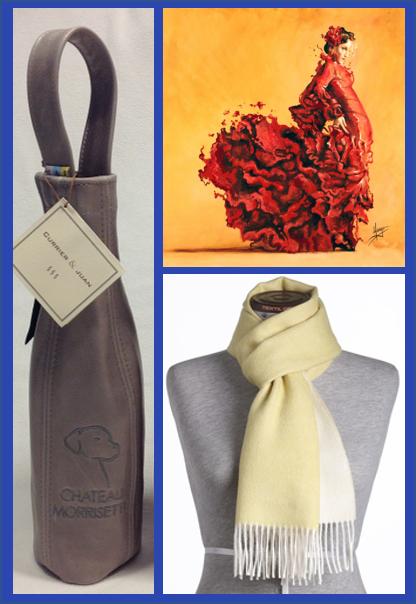 Fashion + Leather + Art Trio