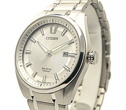 Citizen Mens Eco Drive Titanium AW1241-54A
