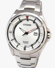 Citizen Mens Eco Drive Titanium AW1401-50A