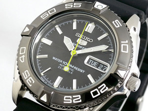 Seiko Mens 5 Sports Automatic SNZB23J2