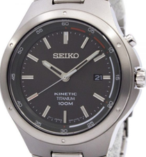 Seiko Mens Kinetic Titanium SKA713P1