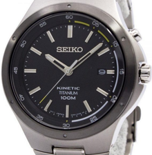 Seiko Mens Kinetic Titanium SKA715P1