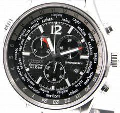 Citizen Eco Drive Chrono World Time AT0365-56E