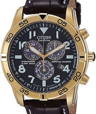 Citizen Mens Eco Drive Perpetual Chronograph BL5472-01E